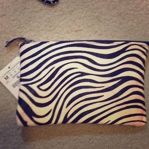 Cow Fur Zara Clutch Bag